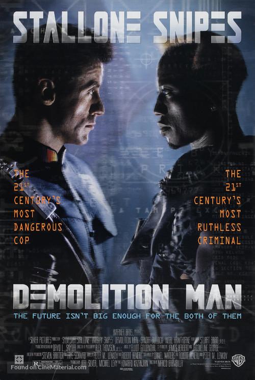 Demolition Man - Movie Poster