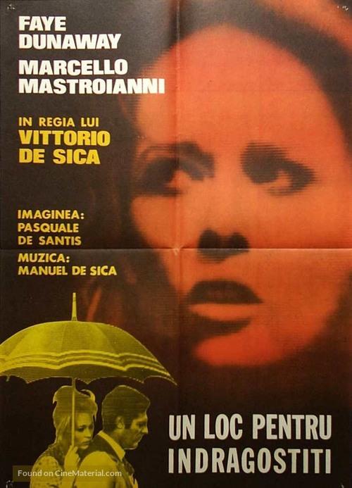 Amanti - Romanian Movie Poster