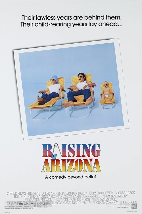 Raising Arizona - Movie Poster