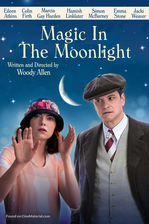 Magic in the Moonlight - DVD movie cover