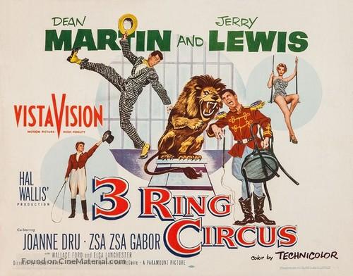 3 Ring Circus - Movie Poster