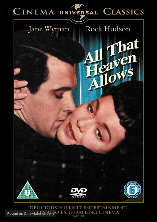 All That Heaven Allows - British Movie Cover
