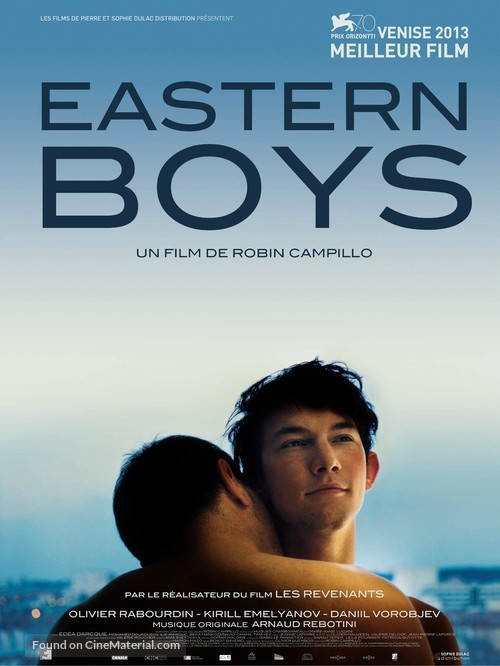 Eastern Boys - French Movie Poster