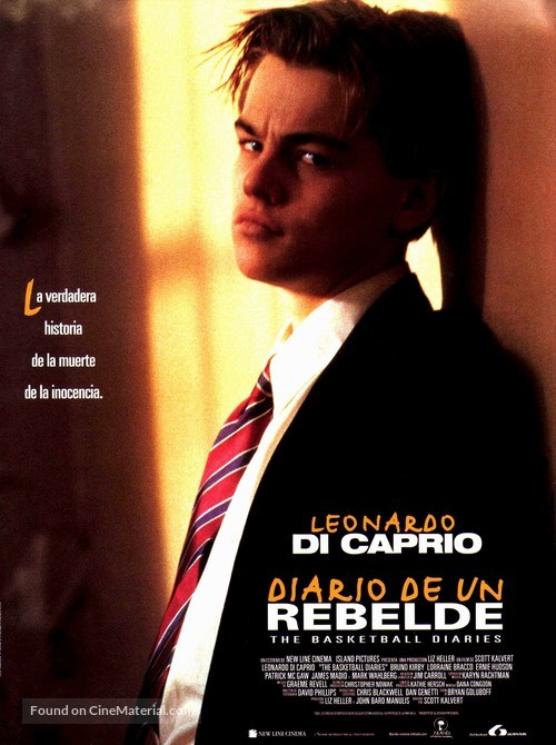 The Basketball Diaries - Spanish Movie Poster
