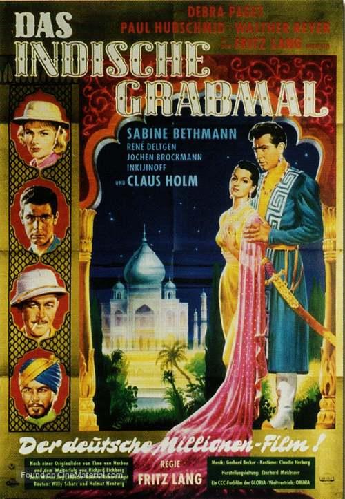 Das iIndische Grabmal - German Movie Poster