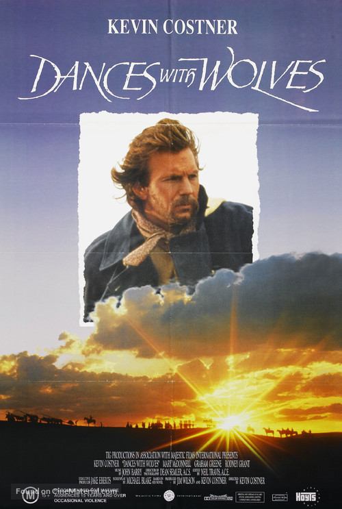 Dances with Wolves - Australian DVD movie cover