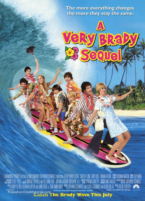 A Very Brady Sequel - Movie Poster