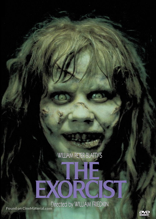 The Exorcist - DVD movie cover