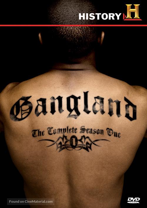 """""""Gangland"""" - DVD movie cover"""
