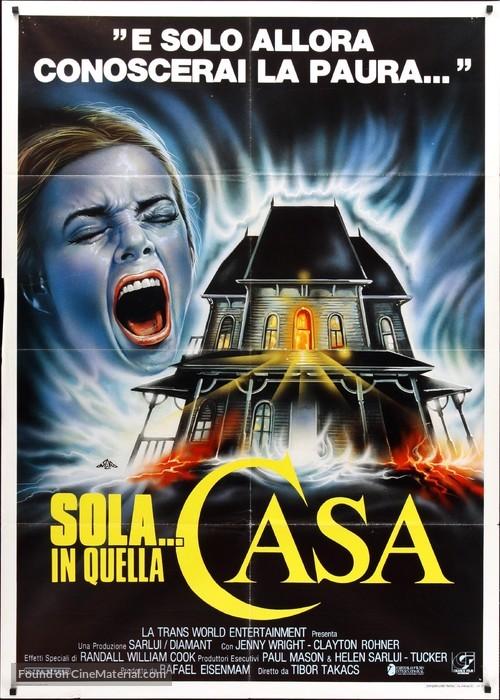 I, Madman - Italian Movie Poster
