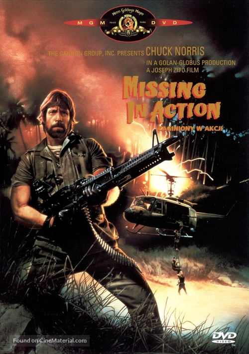 Missing in Action - Polish Movie Cover