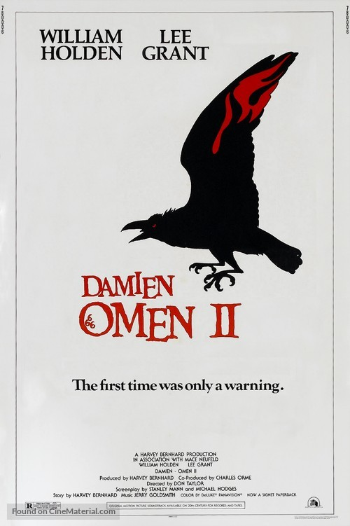 Damien: Omen II - Movie Poster