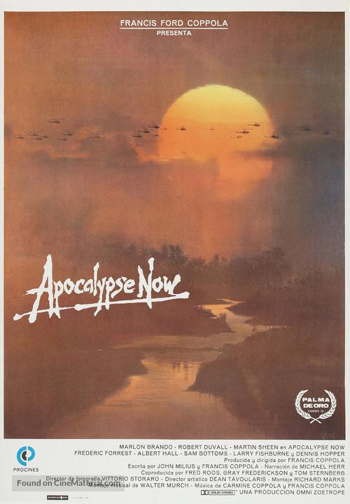 Apocalypse Now - Spanish Movie Poster