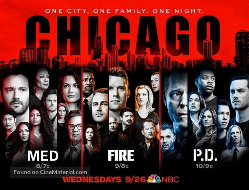 """""""Chicago Fire"""" - Movie Poster"""