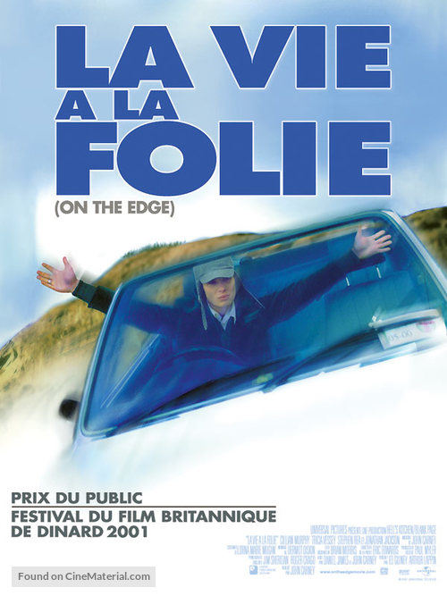 On the Edge - French Movie Poster