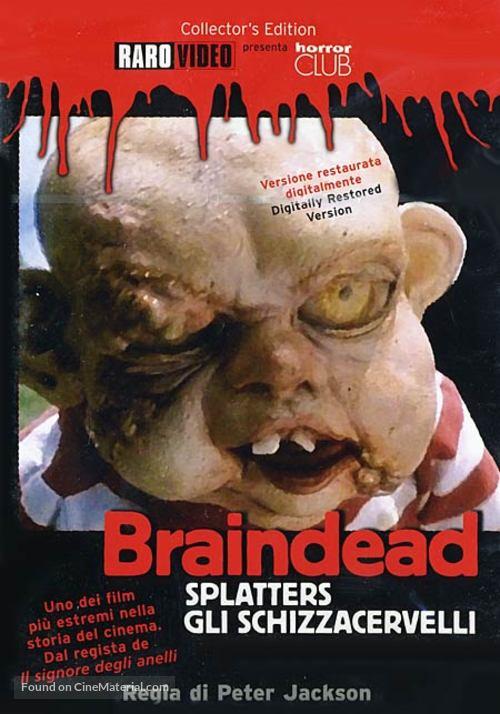 Braindead - Italian DVD movie cover