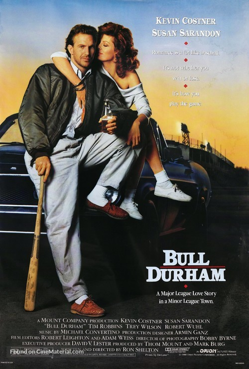 Bull Durham - Movie Poster