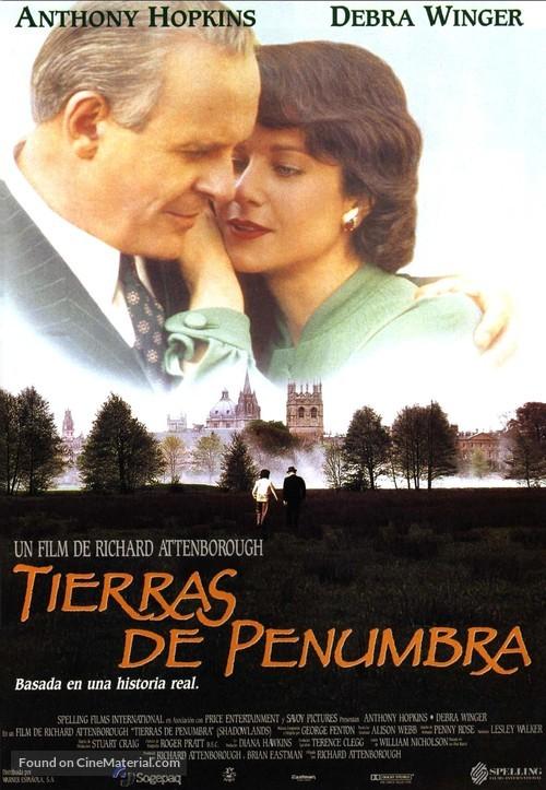 Shadowlands - Spanish Movie Poster