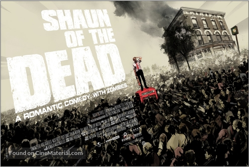 Shaun of the Dead - British Movie Poster