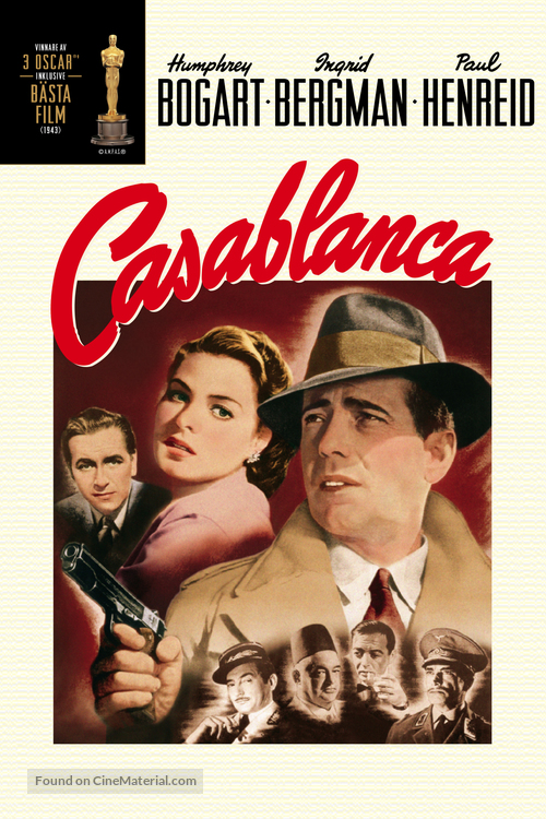 Casablanca - DVD movie cover