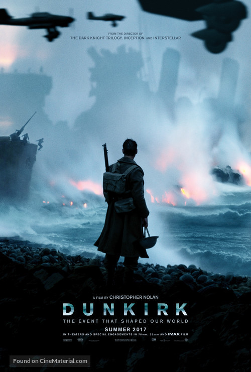 Dunkirk - Teaser movie poster