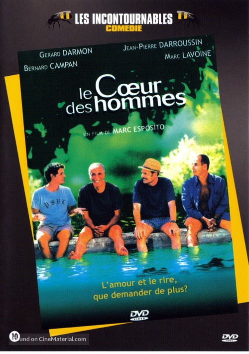 Le coeur des hommes - French Movie Cover