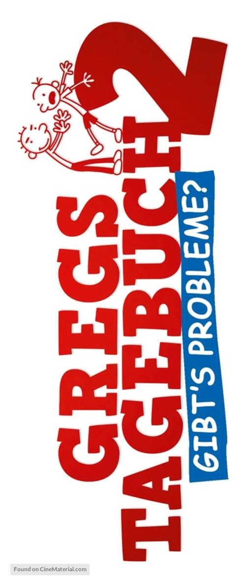 Diary Of A Wimpy Kid 2 Rodrick Rules 2011 German Logo