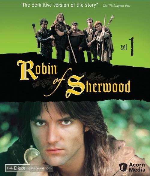 """Robin of Sherwood"" - Blu-Ray movie cover"
