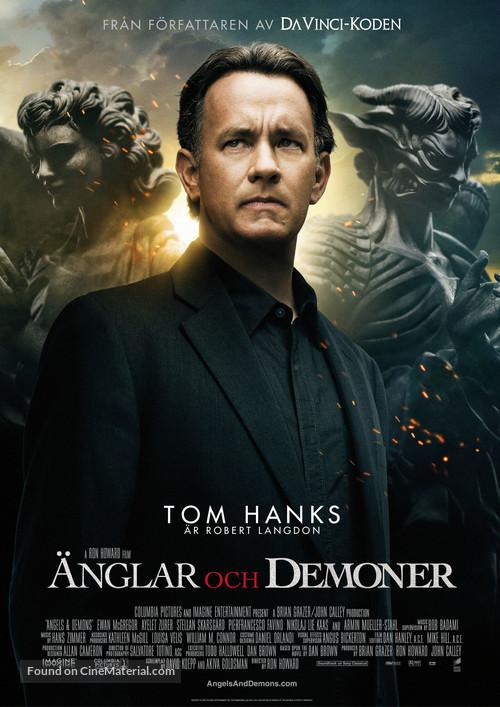 Angels & Demons - Swedish Movie Poster