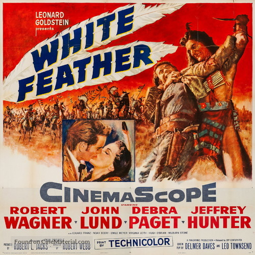 White Feather - Movie Poster