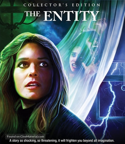 The Entity - Blu-Ray movie cover