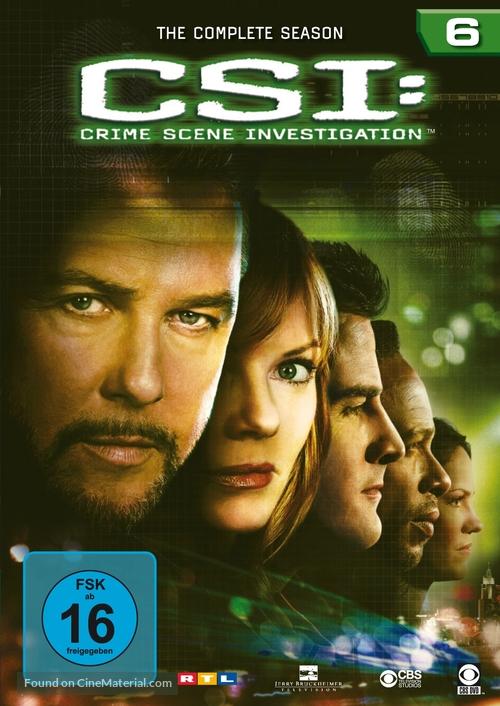 """CSI: Crime Scene Investigation"" - German DVD movie cover"