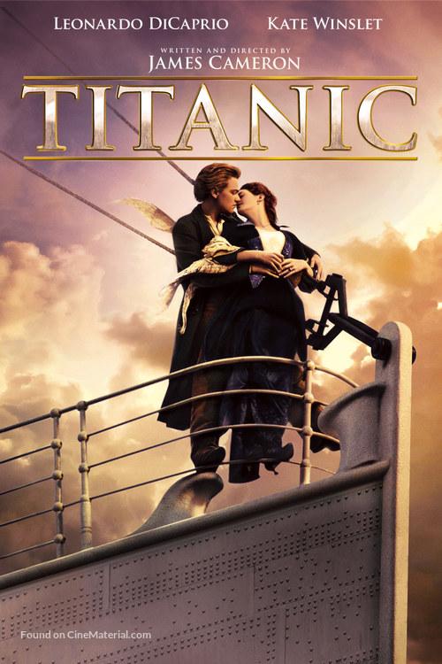 Titanic (1997) dvd movie cover