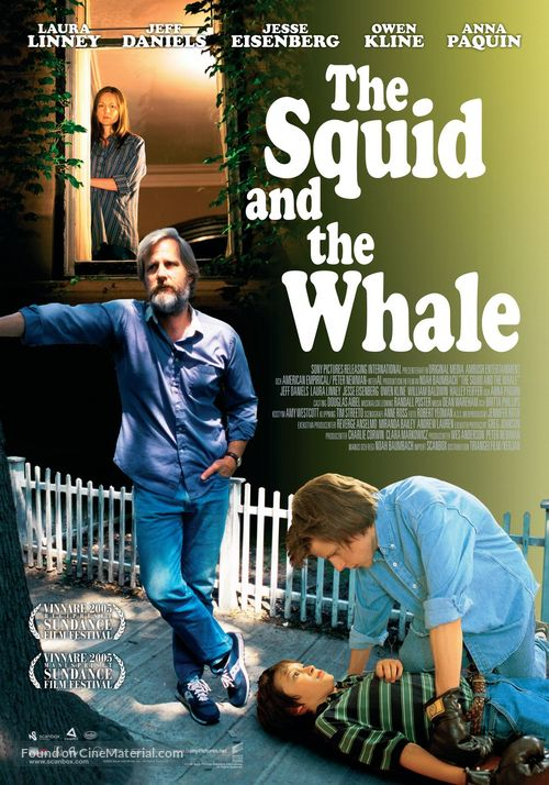 The Squid and the Whale - Movie Poster