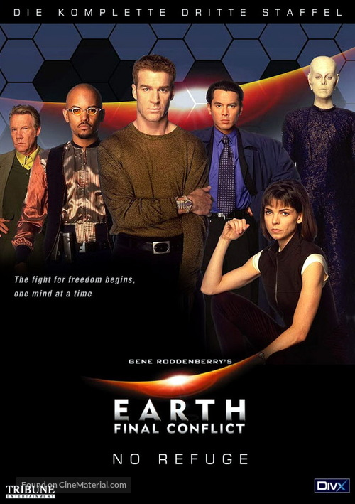 """""""Earth: Final Conflict"""" - German Movie Cover"""