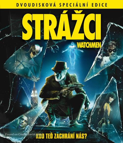 Watchmen - Czech Blu-Ray movie cover
