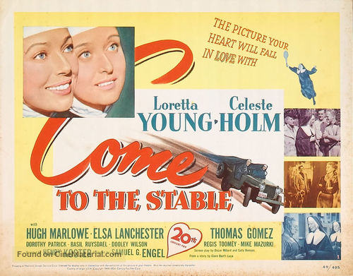 Come to the Stable - Movie Poster