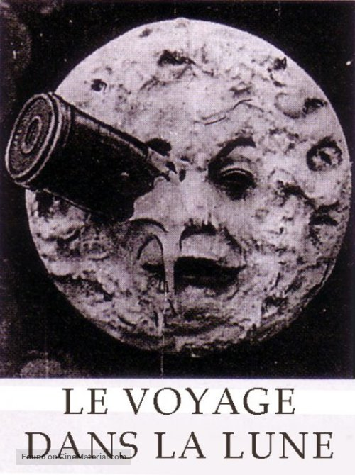 Le voyage dans la lune - French DVD movie cover