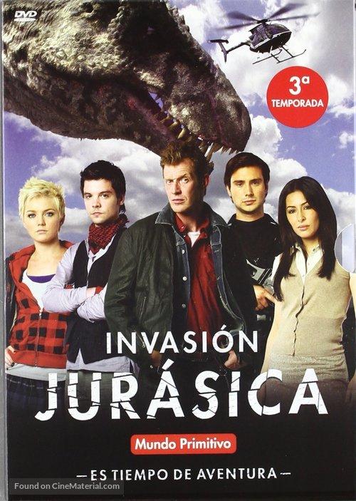 """""""Primeval"""" - Spanish DVD movie cover"""