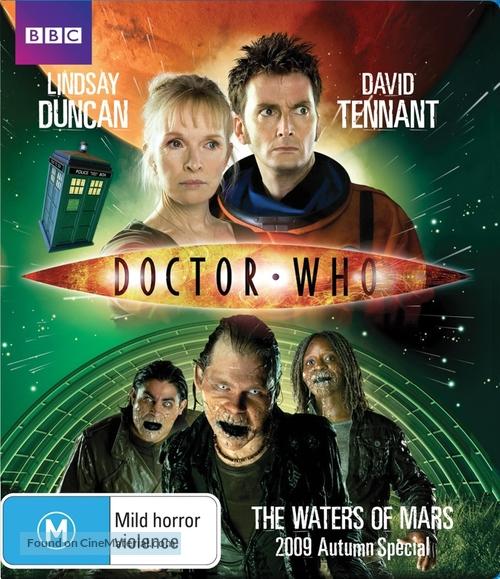 """Doctor Who"" - Australian Blu-Ray movie cover"