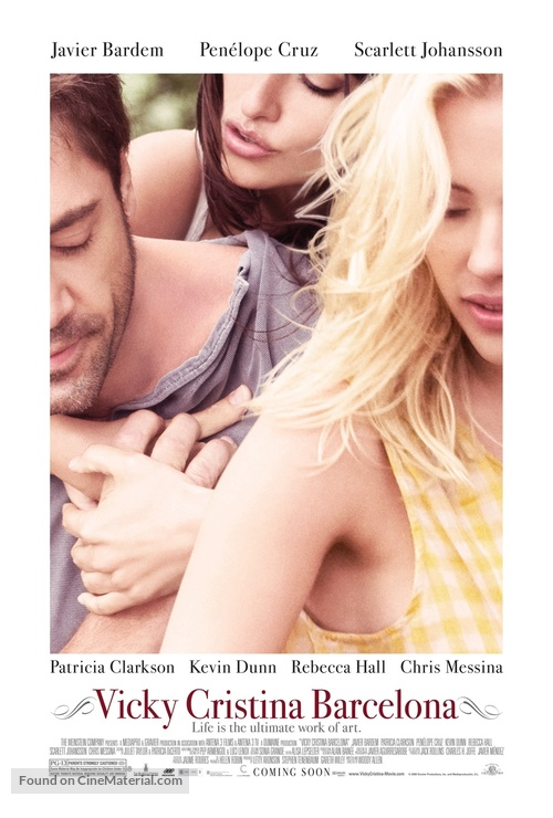 Vicky Cristina Barcelona - Movie Poster