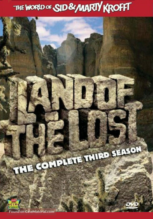 """""""Land of the Lost"""" - DVD movie cover"""