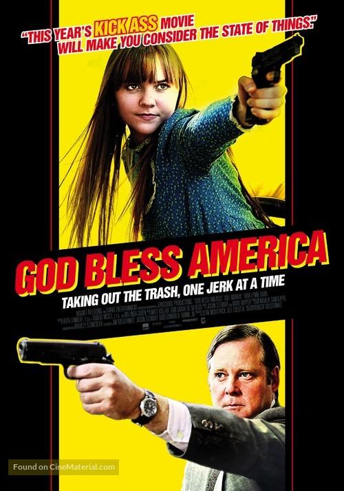 God Bless America - Dutch Movie Poster
