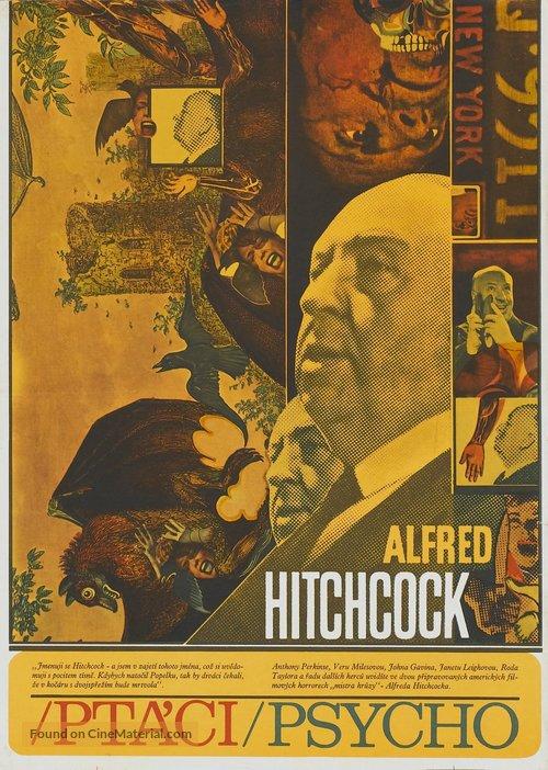 Psycho - Czech Combo movie poster
