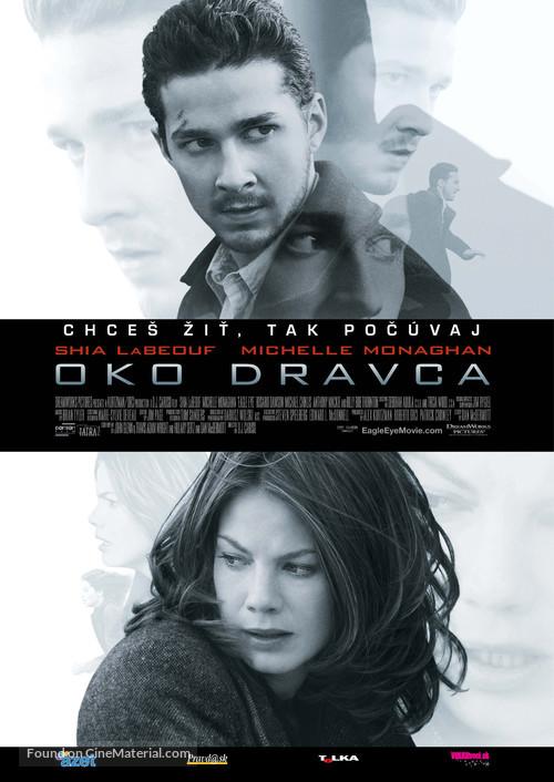 Eagle Eye - Slovak Movie Poster