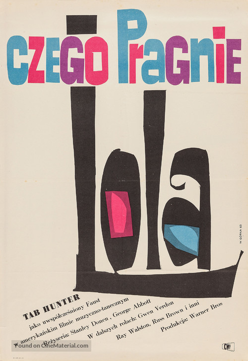 Damn Yankees! - Polish Movie Poster