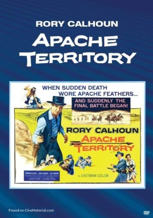 Apache Territory - DVD movie cover