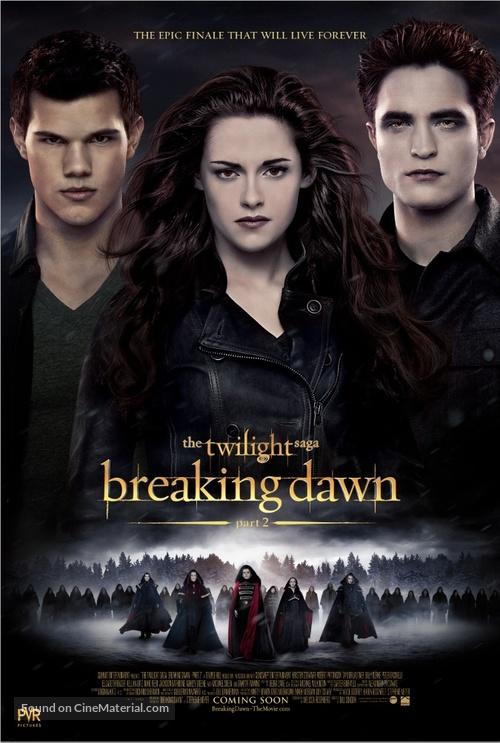 The Twilight Saga: Breaking Dawn - Part 2 - Indian Movie Poster