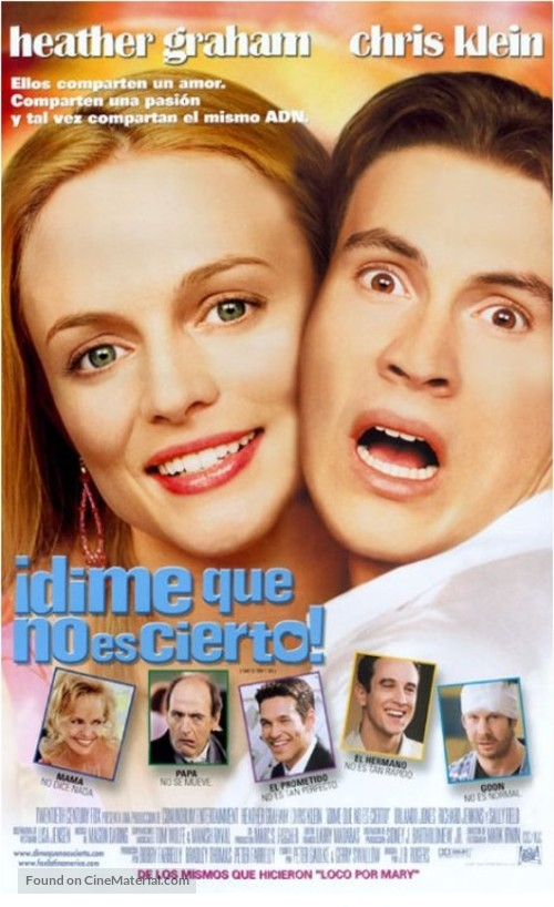 Say It Isn't So - Argentinian Movie Poster