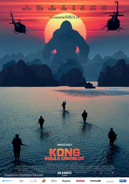 Kong: Skull Island - Romanian Movie Poster
